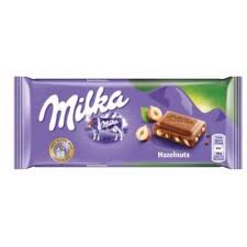 MILKA WHOLE NUTS 100G delivery