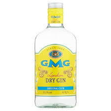 GMG DRY GIN 0,7 delivery
