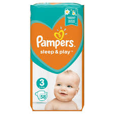 PAMPERS PELENE SLEEP i PLAY 3 dostava