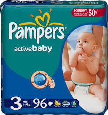 PAMPERS PELENE MIDI GP delivery