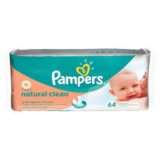 Vlažne maramice natur pampers 64/1 delivery