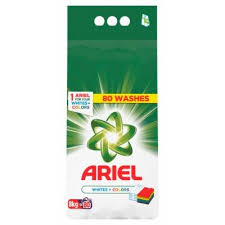 ARIEL WHITE i COLOR 8KG dostava