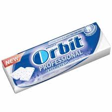 ORBIT PROFESIONAL EXTRA FRESH delivery