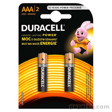 Duracell Basic AAA 2X6 crd delivery