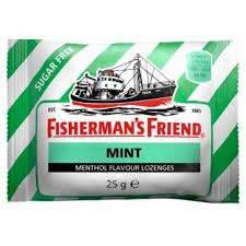 Fishermans Friend pepermint 25gr. - pastile dostava