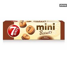 7 Days Mini Biscuits Chocol  100gr. dostava