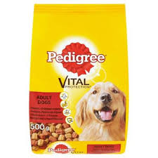 PEDIGREE BRIKETI GOVEDINA I ZIVINA 500G delivery