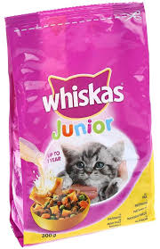 WHISKAS BRIKETI JUNIOR PILETINA 300G delivery