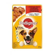 PEDIGREE KESA GOVEDINA 100G delivery