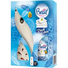 BRAIT APARAT + REFIL FRESH LINEN 250ML. dostava