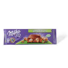 Milka čokolada whole nut 270gr. dostava