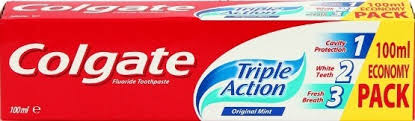 COLGATE TRIPLE ACTION 100ML delivery