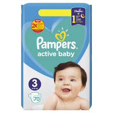 PAMPERS 3 delivery