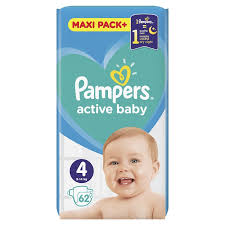 PAMPERS 4 delivery