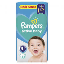 PAMPERS 4 +  delivery