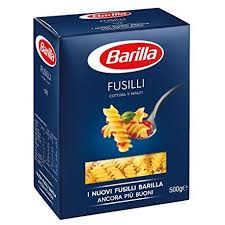 BARILA FUSILI 500G delivery
