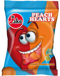 JAKE GUMENE PEACH HEARTS dostava