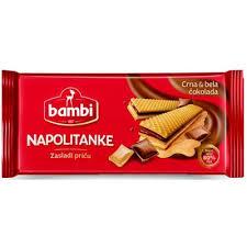Napolitanke bela i crna čokolada 185gr. - vafel proizvod delivery