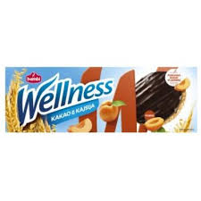 Wellness integ.keks sa kajsijom preliven čokoladom 150gr delivery