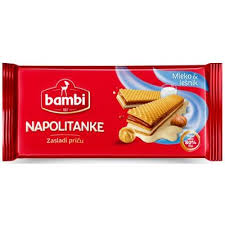 Napolitanke mleko i lesnik 185gr - fafel proizvod delivery