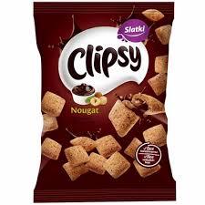 CHIPSY CLIPSY NOUGAT dostava