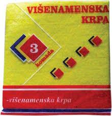 VISENAMENSKA KRPA 3/1 dostava