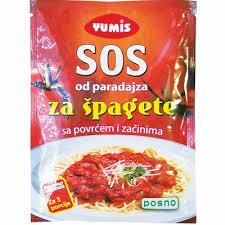 SOS OD PARADAJZA 60 G YUMIS dostava