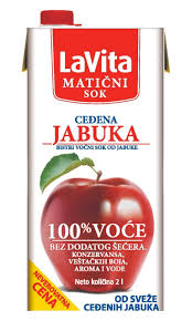 La Vita matični sok jabuke 100% 2l dostava