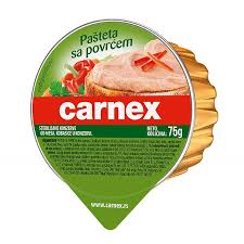 CARNEX PASTETA SA POVRCEM 50GR delivery