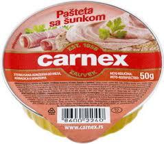 CARNEX PASTETA SA  SUNKOM 50GR delivery