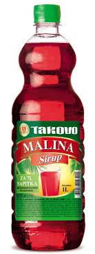 TAKOVO SIRUP MALINA 1L dostava