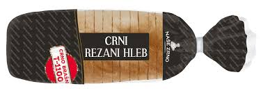 CRNI REZANI HLEB 450GR - AS delivery