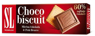 SL CHOCO BISKUIT 125G delivery