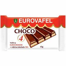 VAFL EURO CHOKO 45G delivery