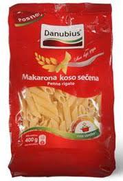 MAKARONA KOSA 400GR. DANUBIUS delivery
