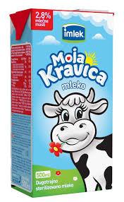 Mleko Kravica 2,8% 0,5l TB MG dostava