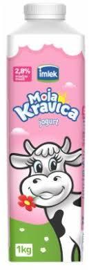 JOGURT KRAVICA 2,8% 0,5L TT- IMLEK dostava