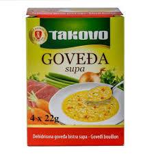 SUPA  GOVEDJA KONCENT 88g TAKOVO dostava