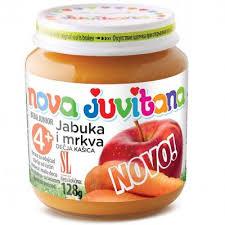 JUVITANA KASICA OD JABUKE I MRKVE 128G delivery