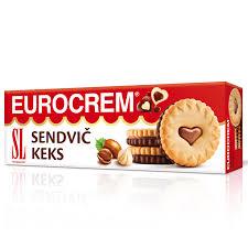 SENDVIČ KEKS 125GR. EUROCREM delivery