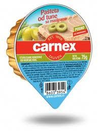 CARNEX PASTETA TUNA 75G delivery