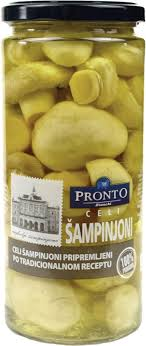 PRONTO ŠAMPINJONI CELI 580ML. delivery