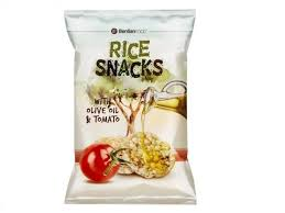 GALETE SNACK RICE TOMATTO 50G delivery
