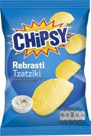 Chipsy rebrasti Tzatziki FTBL 90gr. dostava