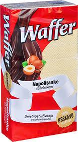 VAFEL NUGAT 185GR. WAFFE - MORAVKA delivery