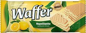VAFEL NAR/ČOK 185GR. WAFFE - MORAVKA delivery
