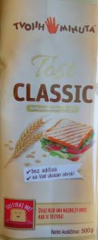 HLEB TOST CLASSIC 500GR. - DONDON dostava