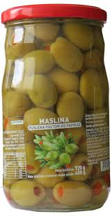 MASLINA SA PAPRIKOM 720G MP delivery