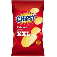 CHIPSY REBRASTI SLANI XXL 150G dostava