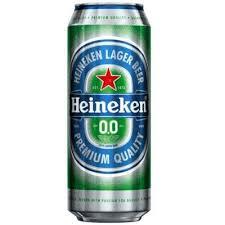 Pivo Heineken bezalkoholno 0,5l. CAN dostava